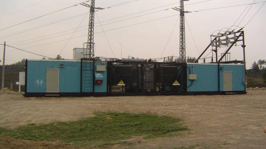 Movable substations electrical hydro electric power for Distribution substation